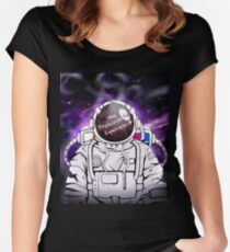 transcendental astronaut Women's Fitted Scoop T-Shirt