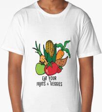 Eat your fruits and veggies Long T-Shirt