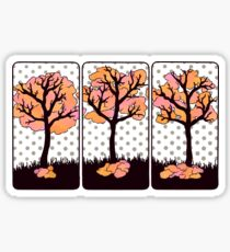 The Tree of Seasons Sticker