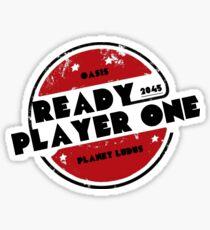 Ready Player One Logo Ludus 2045 Sticker