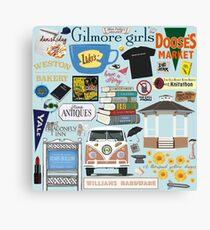 Gilmore Girls fanatic Canvas Print
