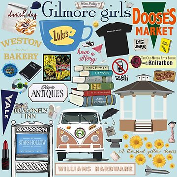 Gilmore Girls fanatic by birchandbark