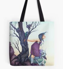 Something in the Wind Tote Bag