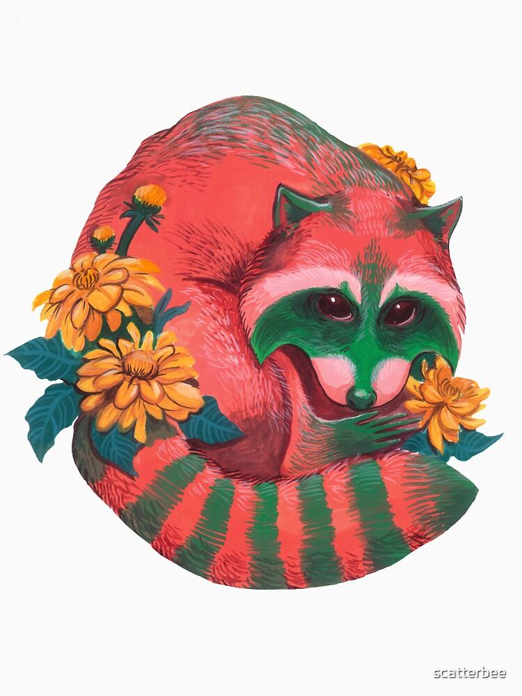 Wassermelonen-Waschbär von scatterbee