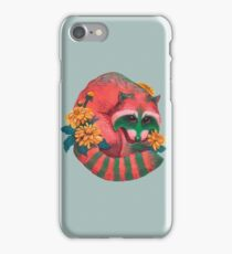 Watermelon Raccoon  iPhone Case/Skin