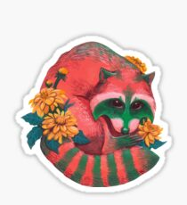 Watermelon Raccoon  Sticker