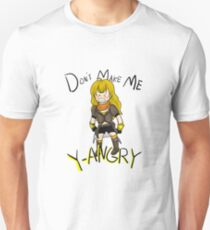 Don't Make Me Y-angry Unisex T-Shirt