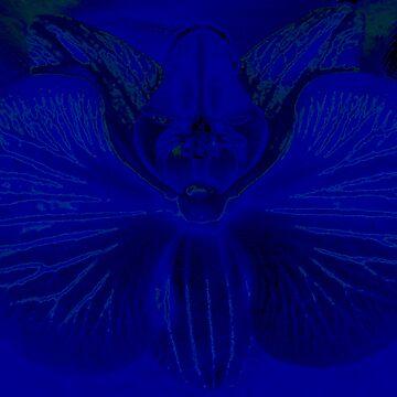 Blue Mothman by justjason