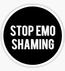 Dan Howell Stop Emo Shaming Sticker