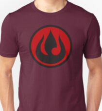 Minimalist Fire Nation Emblem Unisex T-Shirt