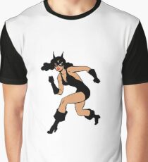 LEOPARD GIRL THE SEXY SUPER HERO Graphic T-Shirt