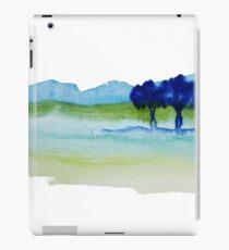 Blue Trees iPad Case/Skin