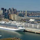 Boston Harbor by Bine