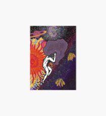 Psychedelic Myth Of Sisyphus Art Board