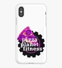 Funny Fitness Planet Parody iPhone Case/Skin