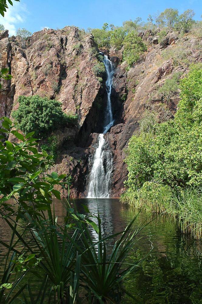 Waterfall Northern Territory by Ian McKenzie