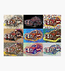 1970 Ford Escort Mk1 RS2000 Rally Photographic Print
