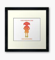 A Free Elf Framed Print