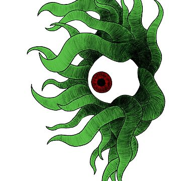 Eye with Tentacles by cyanhyde