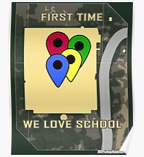 Pubg players loves SCHOOL ! (old map version) Poster