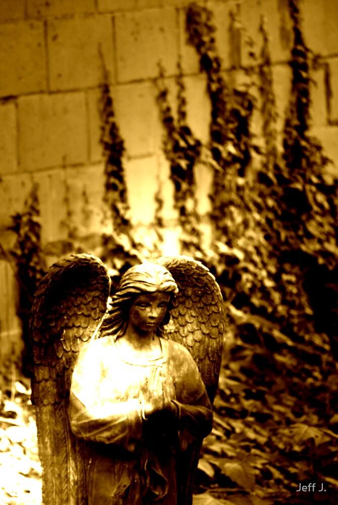 Garden Angel by Jeff J.