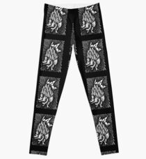 Diamond Heart Leggings