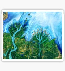 Flowing Waters Gulf of Mexico Sticker