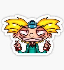 Hey Arnold sticker fanart Sticker