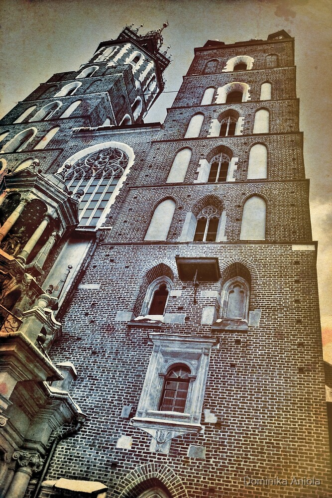 Cracow towers by Dominika Aniola