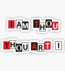 I am thou, thou art I Persona 5 Sticker