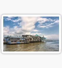 The Wharf at Cedar Key Sticker