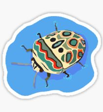 Picasso Bug Puddle Sticker