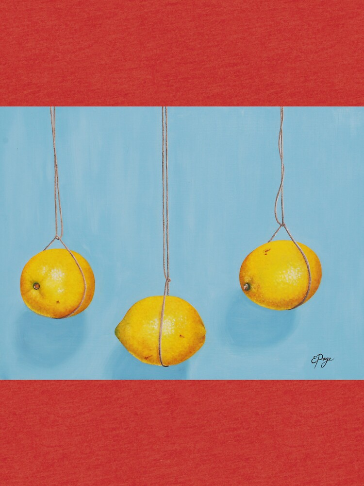 Low Hanging Lemons by emilypageart