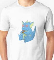 Blue Cookie Dragon T-Shirt