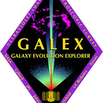 Galaxy Evolution Explorer (GALEX) Program Logo by Spacestuffplus