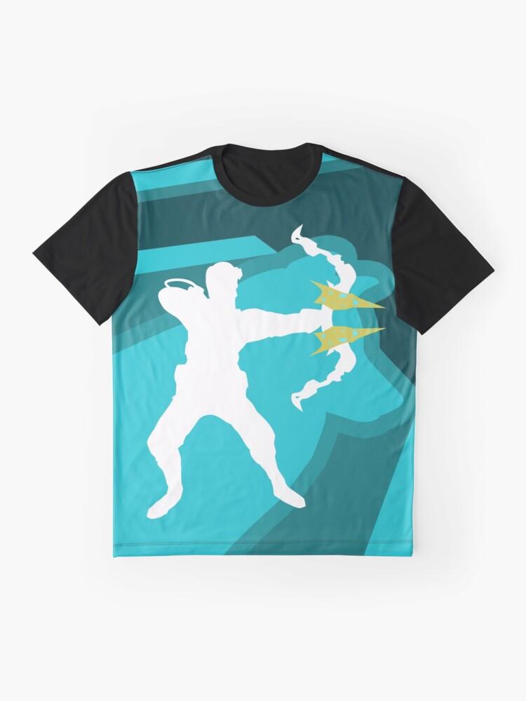 Vista alternativa de Camiseta gráfica Los Elementales Lobo