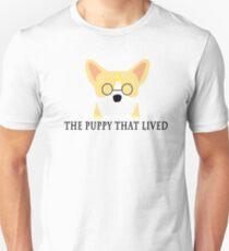Harry Potter Corgi in Hogwarts T-Shirt