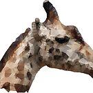 Low Poly Giraffe by fuzzydragons