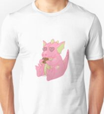 Pink Cookie Dragon T-Shirt