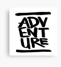 Adventure ink  Canvas Print