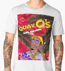 QuavO's Cereal Red Men's Premium T-Shirt