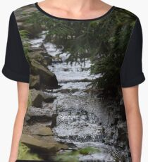 Waterfall 1 Women's Chiffon Top