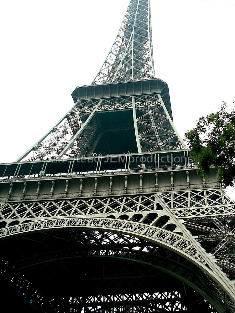 eiffel tower I by Jan Stead JEMproductions