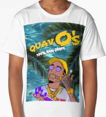 Quavo's Cereal Beach Blue Long T-Shirt