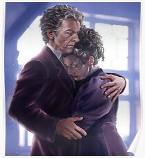 Doctor Who - Twelve and Missy Poster