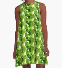 Honey plants bloom A-Line Dress
