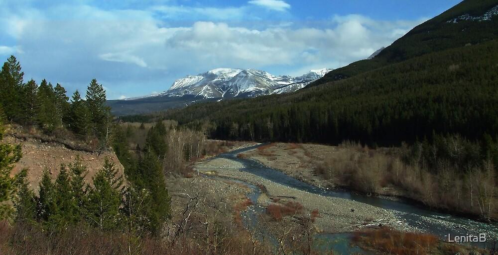 where the river runs by LenitaB