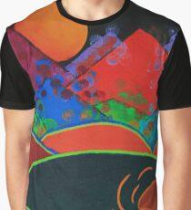 Summer Guardian Bear Graphic T-Shirt