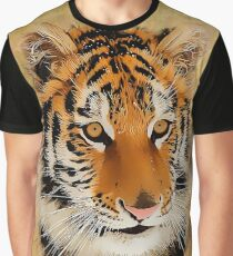 The Tiger Stare Graphic T-Shirt