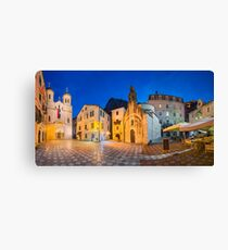 Old town of Kotor Canvas Print